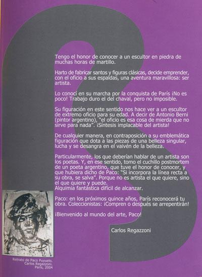 La visión de Paco Puyuelo, según Carlos Regazzoni